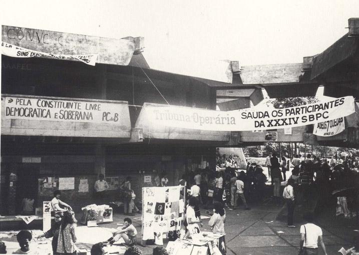 34º Reunião Anual SBPC Julho de 1982, Campinas - SP.