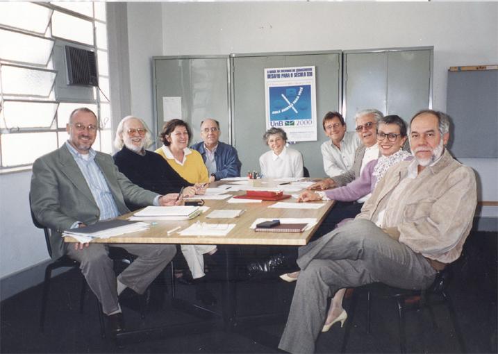 Diretoria de 1999-2001: Aldo Malavasi (Secretário-geral), Luiz Antônio Marcuschi (Secretário), Regina Pekelman Markus (Secretária), Luiz Carlos Moura Miranda(1º Tesoureiro), Glaci Zancan (Presidente), José Eduardo Cassiolato (2º Tesoureiro), Marco Antonio Raupp e Vilma Figueiredo (vice-presidentes) e Jorge Guimarães (Secretário).