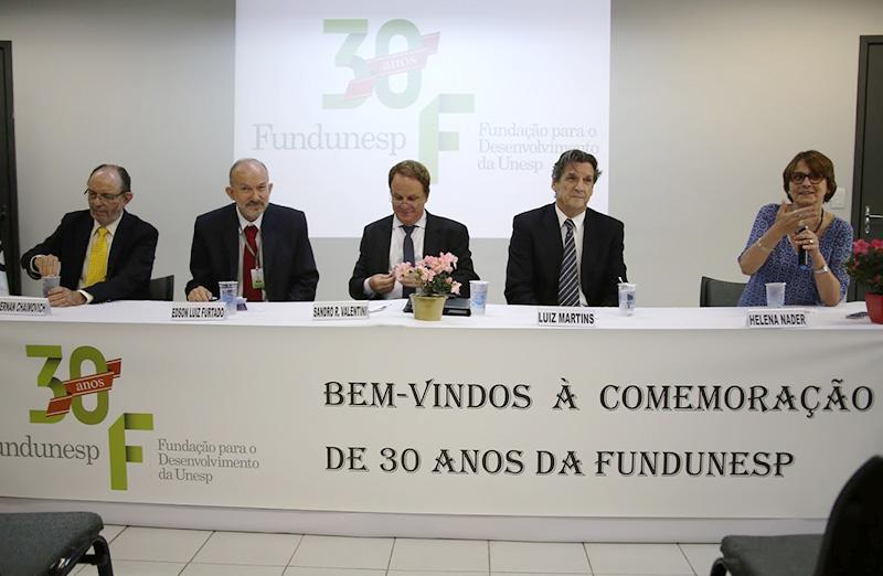 Fundunesp celebra 30 anos com debate sobre situação da ciência no Brasil, em 04 de abril. (Foto: Fundunesp)