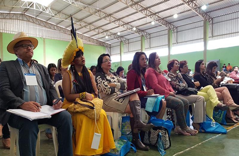 Realizada nos dias 06 e 07 de julho, SBPC Educação reúne 600 profissionais do ensino básico na UFMG, em Montes Claros. A atividade é parte da programação da 69ª Reunião Anual da SBPC, que acontece em Belo Horizonte entre 16 e 22 de julho. (Foto: UFMG)