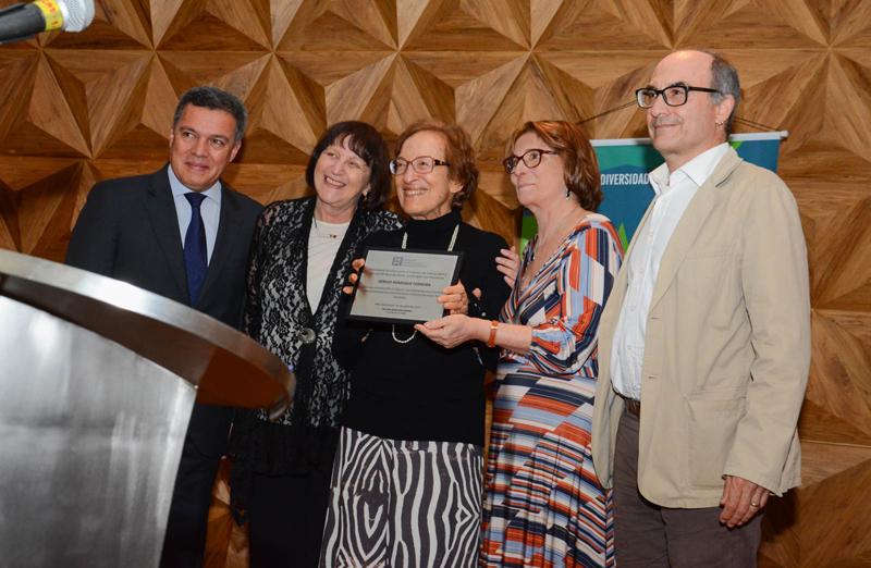 Nomes que fizeram diferença na ciência brasileira são homenageados na abertura da 69ª Reunião Anual (Foto: Pietro Sitchin/SBPC)