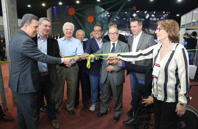 ExpoT&C foi aberta ao público nesta segunda, 17 de julho, na 69ª Reunião Anual. (Foto: Herivelto Batista/Ascom MCTIC)