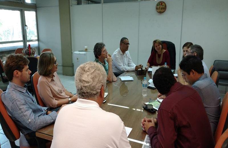 Ufal recebeu comitiva da SBPC para organizar a 70ª Reunião Anual, nos dias 30 e 31 de agosto. (Foto: UFAL)
