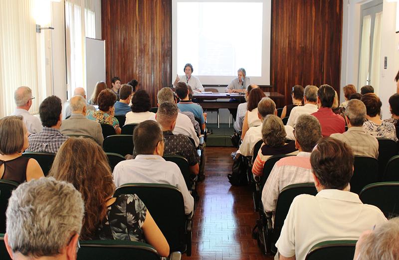 Fórum Permanente das Sociedades Científicas Associadas à SBPC define estratégias para 2018. Encontro realizado no dia 20 de março, na sede da SBPC, em São Paulo, teve participação de representantes do CNPq, Finep e Capes
