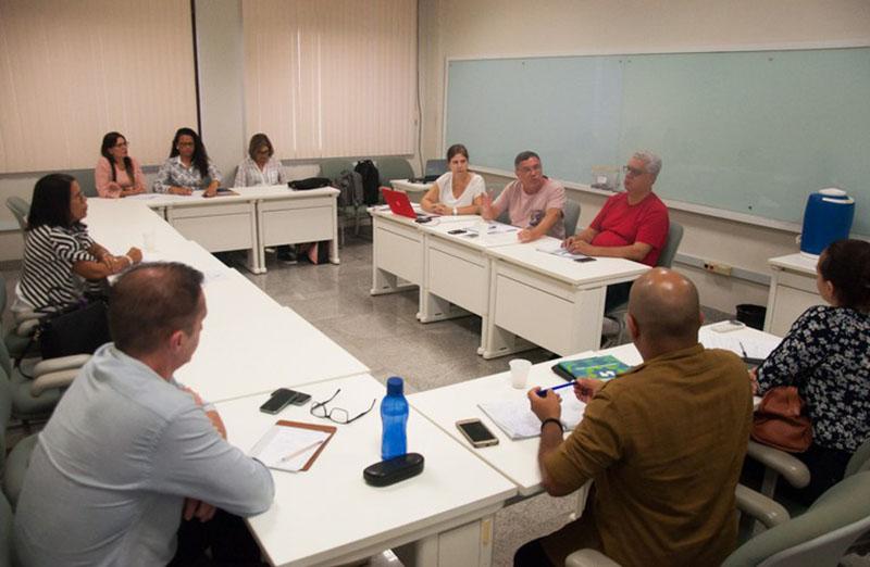 A Comissão Executiva Central da SBPC desembarcou em Maceió para uma maratona de reuniões com o intuito de alinhar as atividades pré-evento com as comissões locais, nos dias 1º e 2 de março, na Ufal.  (Foto: Renner Boldrino)