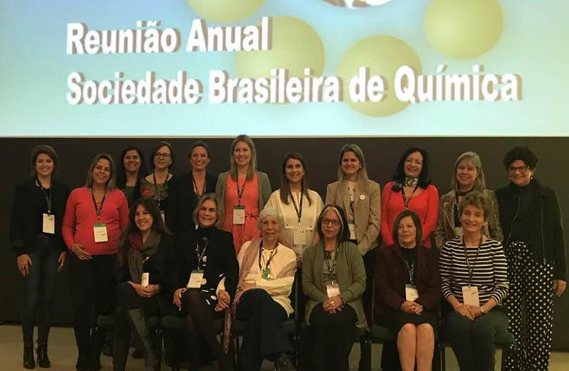 A vice-presidente da SBPC, Vanderlan Bolzani, participou da 41ª Reunião Anual da SBQ, realizada de 21 a 24 de maio, em Foz do Iguaçu