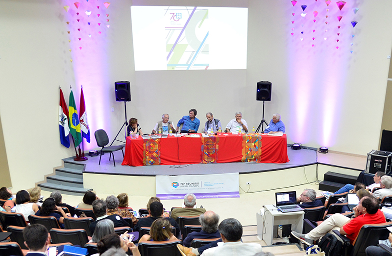 SBPC reúne presidentes de honra e celebra seus 70 anos na Reunião Anual