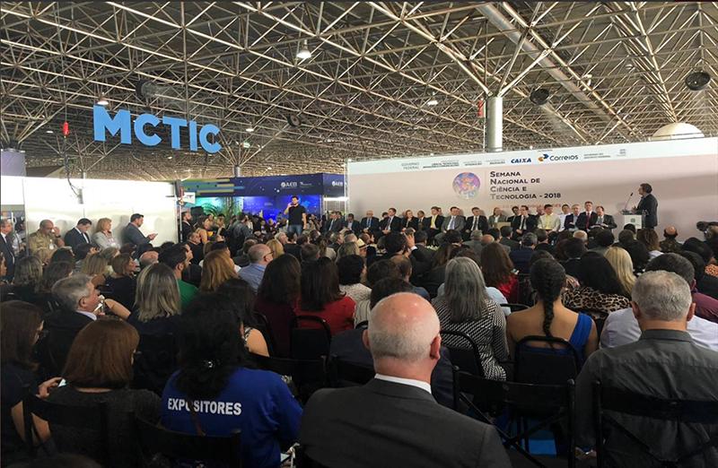 SBPC participa da 15ª Semana Nacional de Ciência e Tecnologia. Edição em Brasília é realizada no Pavilhão de Exposições do Parque da Cidade até domingo (21)