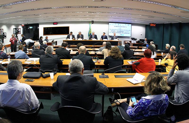 Audiência pública e reunião ordinária da Comissão de Ciência e Tecnologia, Comunicação e Informática da Câmara dos Deputados, realizada em 07 de novembro de 2018, em Brasília. (Foto: Vinicius Loures/Câmara dos Deputados)