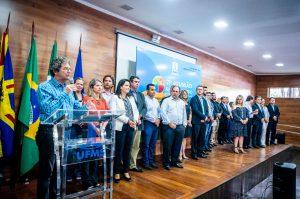 Lançamento da 71ª RA (Foto: UFMS)