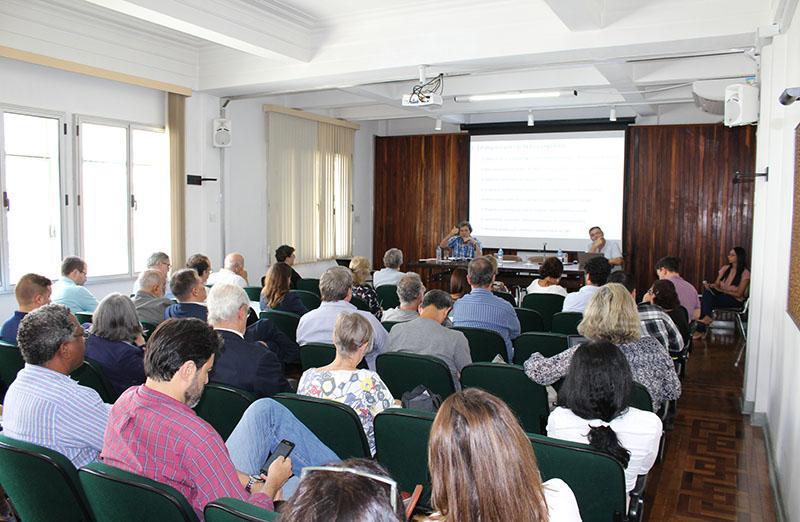 SBPC reúne Sociedades Científicas Associadas para discutir ações para 2019, em 14 de março.