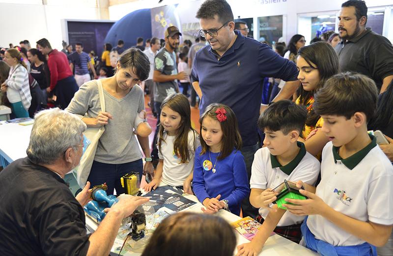 Dia da Família na Ciência encerra as atividades da 71ª Reunião Anual da SBPC. Foto: Jardel Rodrigues/SBPC