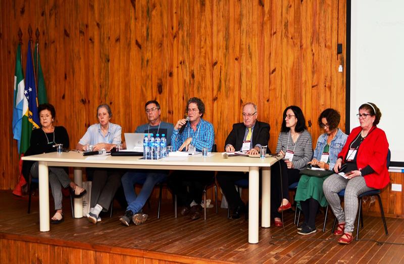 Novos diretores, conselheiros e secretários regionais da SBPC tomam posse. A cerimônia foi realizada no dia 25 de julho, durante a 71ª Reunião Anual, em Campo Grande. Foto: Jardel Rodrigues/SBPC