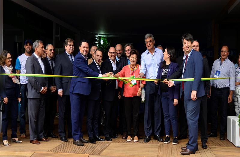 ExpoT&C e Avenida da Ciência, atividades da 71ª Reunião Anual, são oficialmente abertas ao público. Foto: Jardel Rodrigues/SBPC