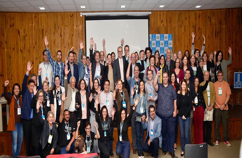 Reunião Anual da SBPC leva mais de 30 mil pessoas à UFMS.  Pela primeira vez em Campo Grande, capital do Mato Grosso do Sul, o evento atraiu estudantes, professores, cientistas, artistas, políticos e empresários de todos os estados do País. Foto: Jardel Rodrigues/SBPC