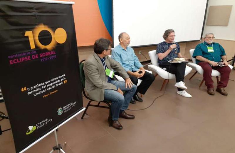 Debate destaca a importância do Ceará na comprovação da Teoria da Relatividade foi realizado no dia 20 de agosto, no Ceará. (Foto: Secitece)