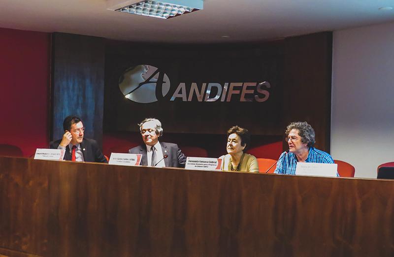 Reunião ordinária do Conselho Pleno da Andifes debate as 'Políticas públicas da Capes e CNPq', no dia 17 de setembro. (Foto: Andifes)