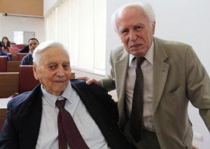 Paulo Sawaya Filho e José-Goldemberg. (Foto: SBPC)