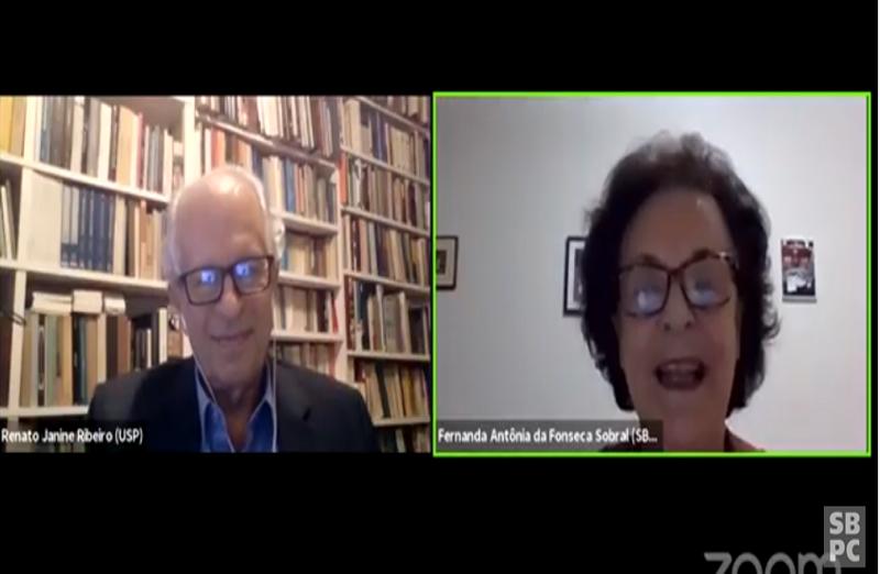 Renato Janine Ribeiro,ex-ministro da educação e professor de ética e filosofia da USP, apresentou a conferência
