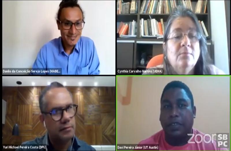 No painel do 3º dia da 72ª Reunião Anual da SBPC, pesquisadores e ativistas discutiram a situação das comunidades que estão sendo prejudicadas pelo acordo  de Salvaguardas Tecnológicas com os EUA.