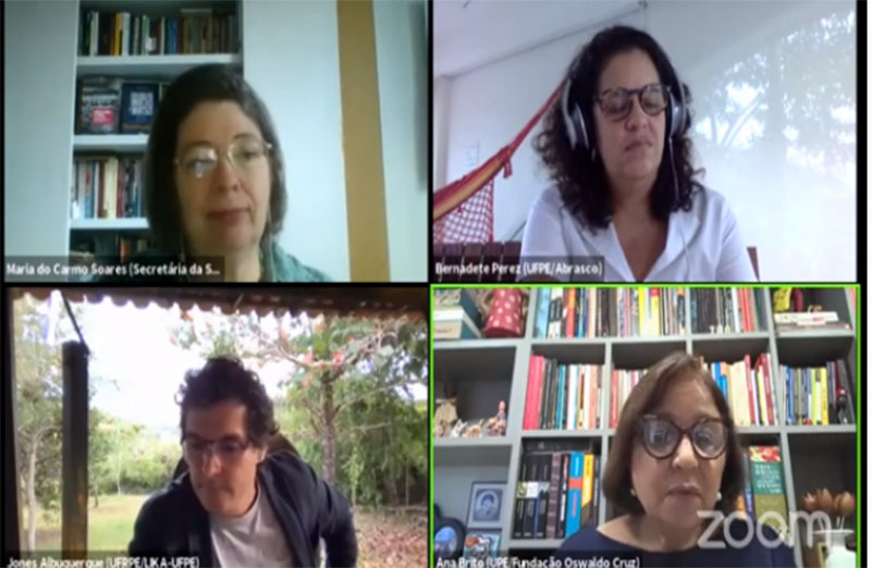 """Ciência venceu o desafio das vacinas, diz especialista. Tema foi discutido durante a conferência """"A Pandemia e a importância da Ciência"""", evento virtual que marcou os 70 anos de fundação da Secretaria Regional da SBPC em Pernambuco, em 25 de fevereiro."""