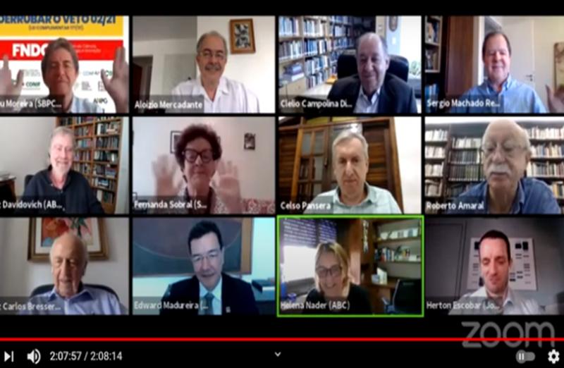 Em evento virtual promovido pela SBPC em 02 de março, ex-ministros da CT&I e representantes da comunidade científica lançaram manifesto de alerta à sociedade sobre as consequências dos profundos cortes orçamentários propostos para 2021 e a descontinuidade de programas estratégicos